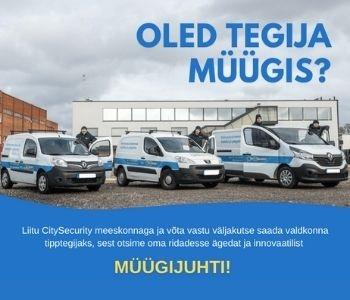 Liitu CitySecurity meeskonnaga.